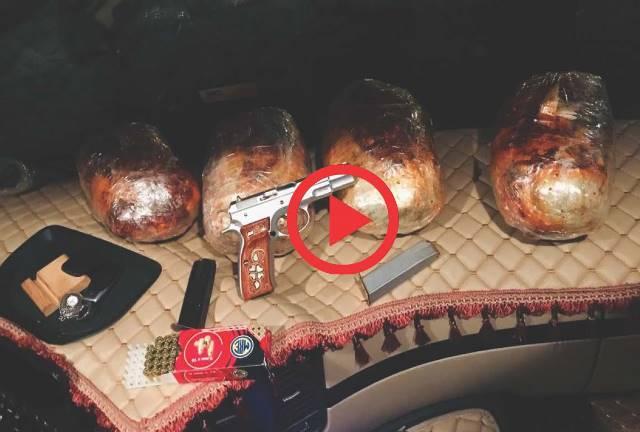 Adana'da 4 kilo 550 gram esrar ele geçirildi