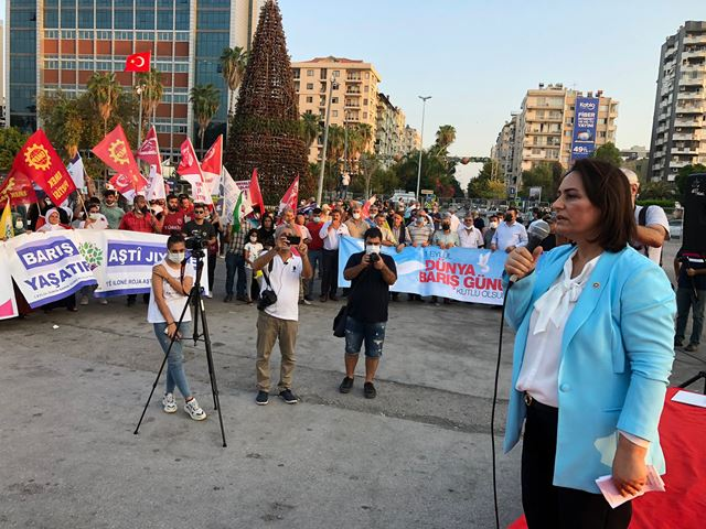 """""""BARIŞ İÇİN UMUT, YENİDEN YEŞERECEK"""""""
