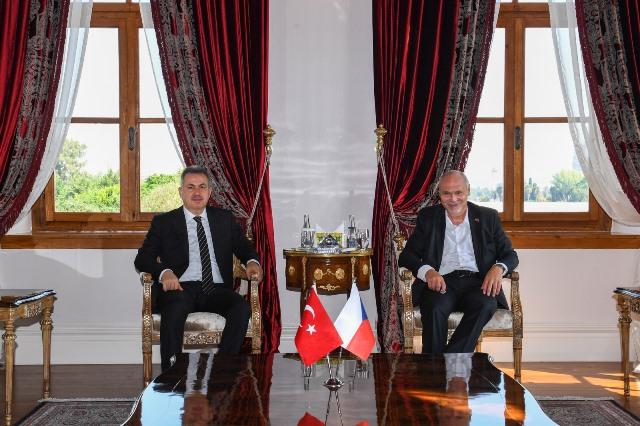 Çekya Büyükelçisi Vacek'ten Vali Elban'a Ziyaret
