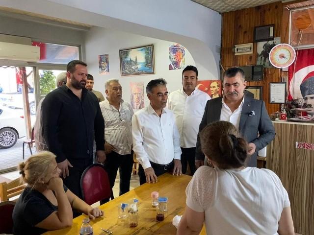 AK Parti ve MHP'den hal esnafına destek