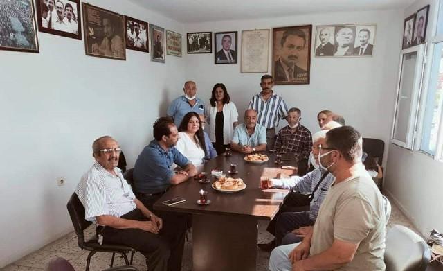 DSP Yüreğir İlçe Başkanı Ayhan Ağdaş oldu